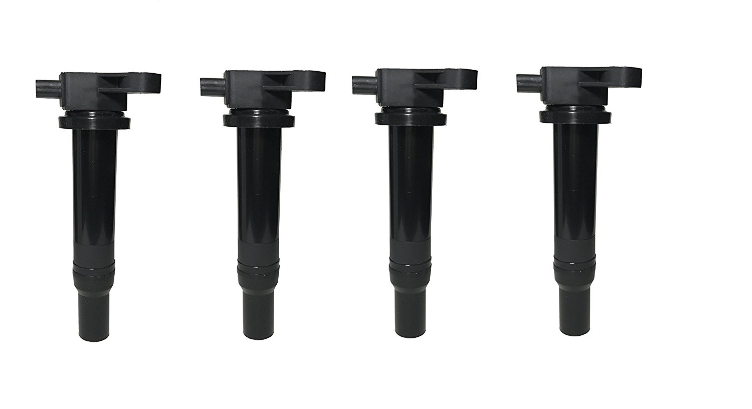 Ignition Coil Pack Set of 4 - Hyundai Accent, Kia Rio - Replaces #27301-26640 Image