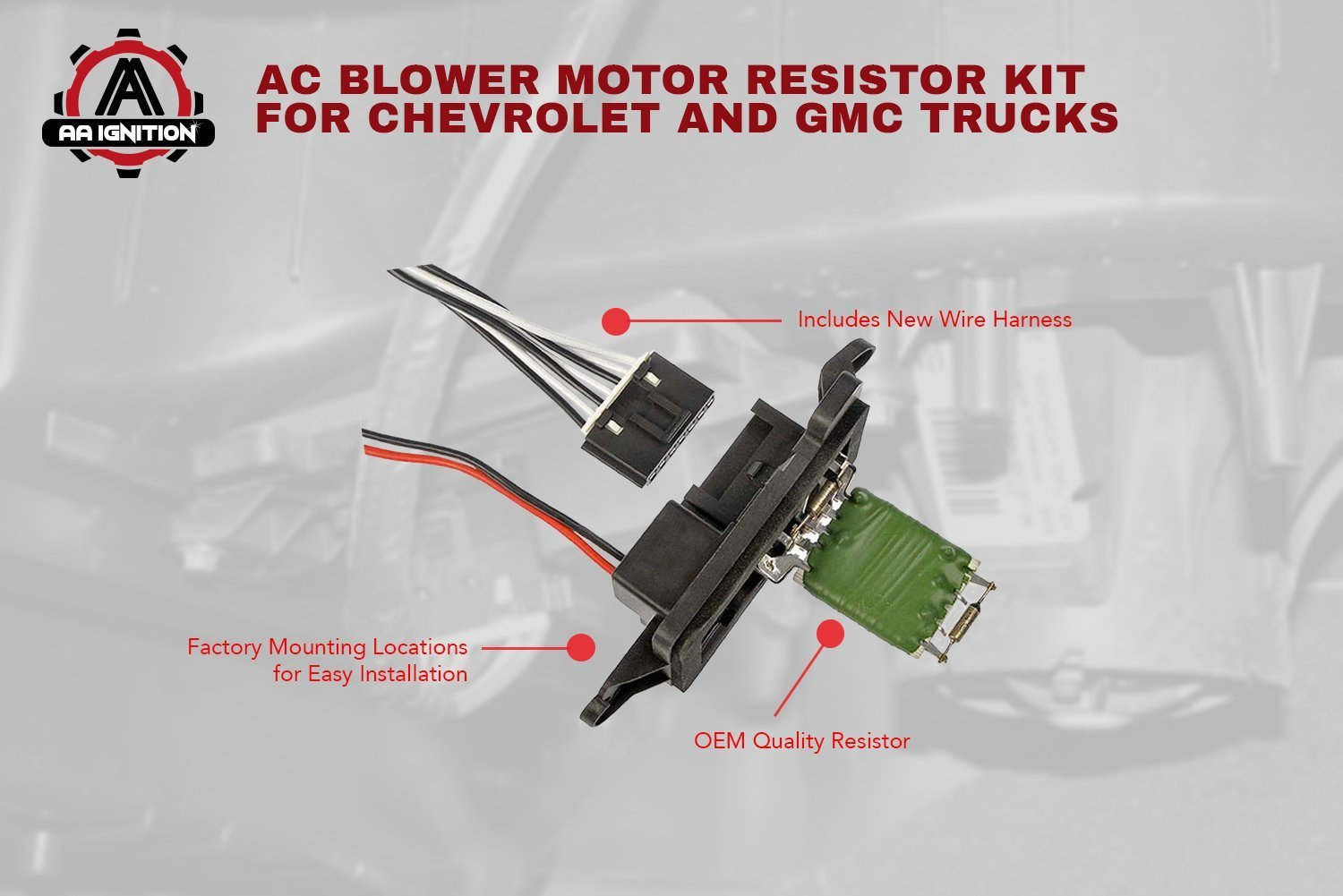 aa ignition products rh aaignition com 2002 chevy silverado blower motor  wiring diagram chevy blower motor wiring diagram