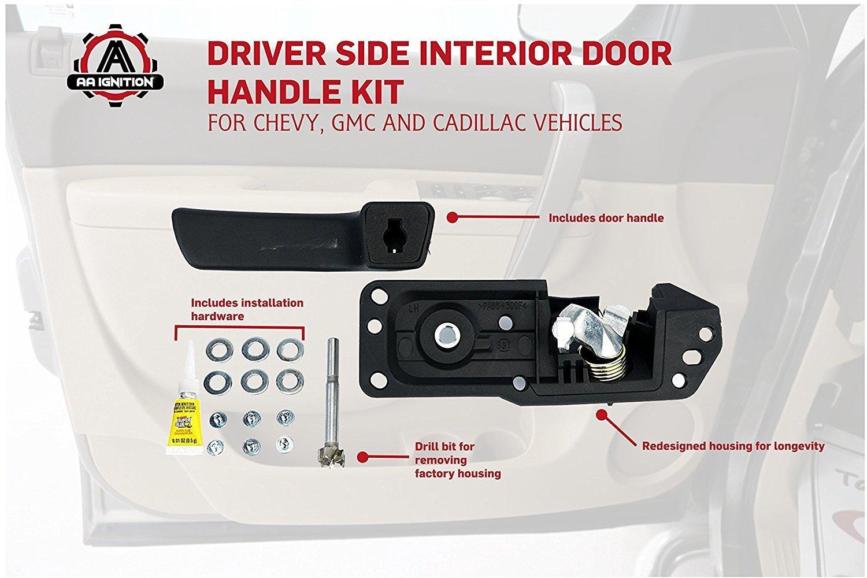 Aa ignition products for 2007 chevy silverado interior door handle