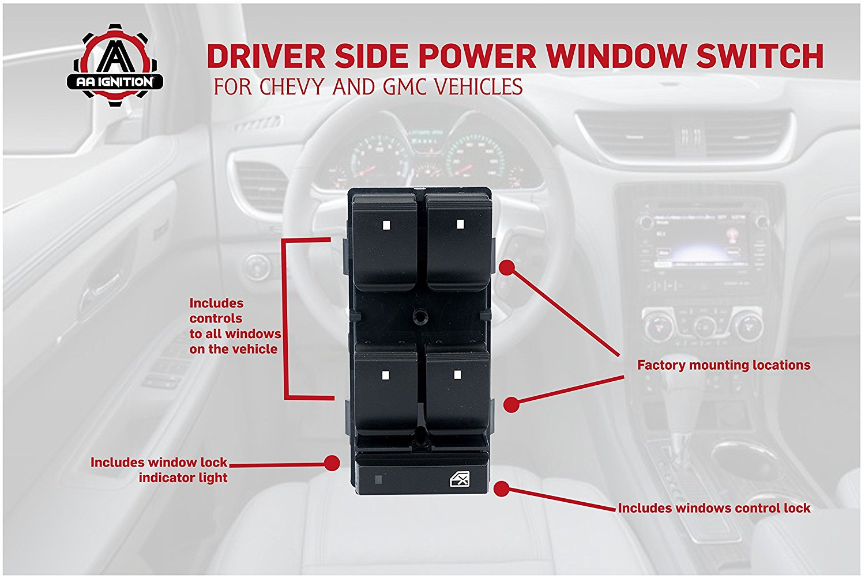 Aa Ignition Products 2012 Gm Power Window Wiring Gwa140