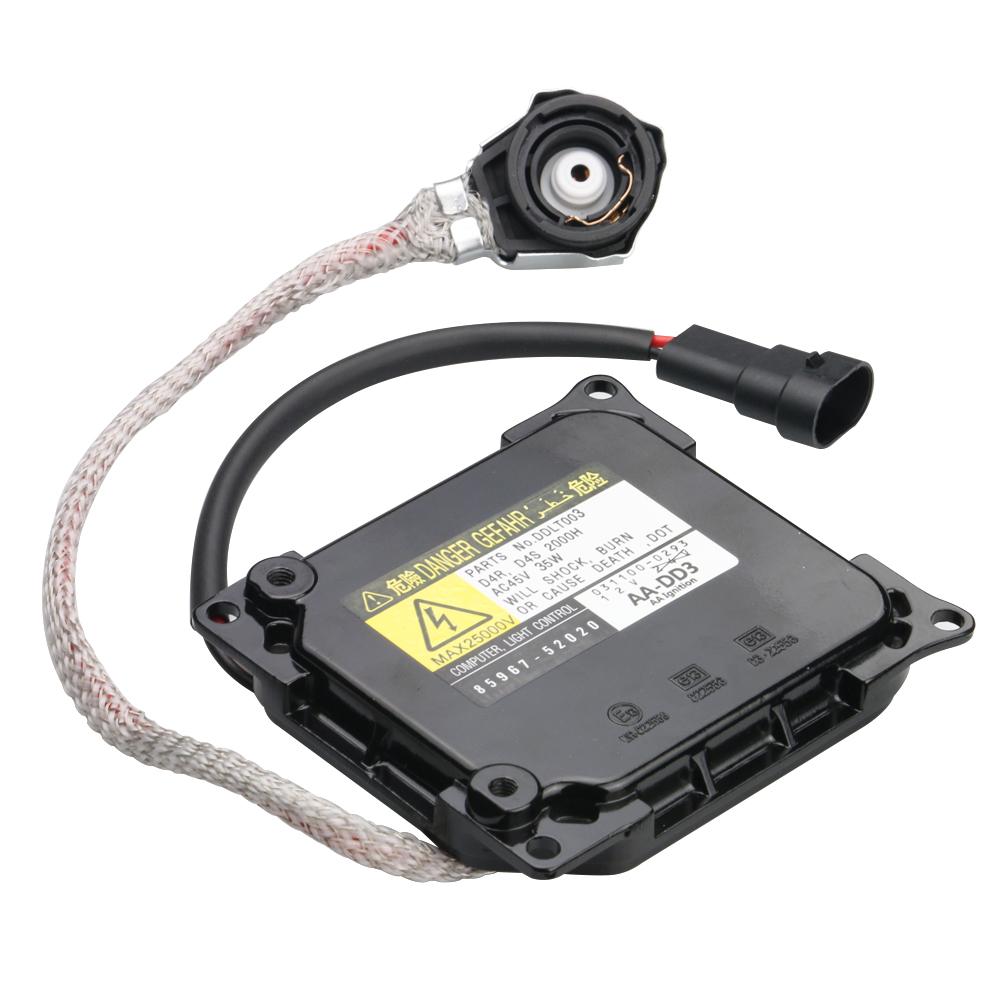 HID Ballast with Ignitor - Xenon Headlight Control Unit - Replaces# 85967-52020 Image