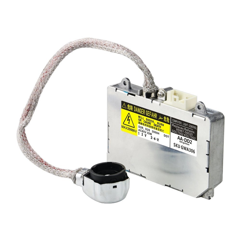 HID Ballast with Ignitor - Headlight Control Unit Module - Replaces# 81107-2D020, 85967-0E020, DDLT002, KDLT002 Image