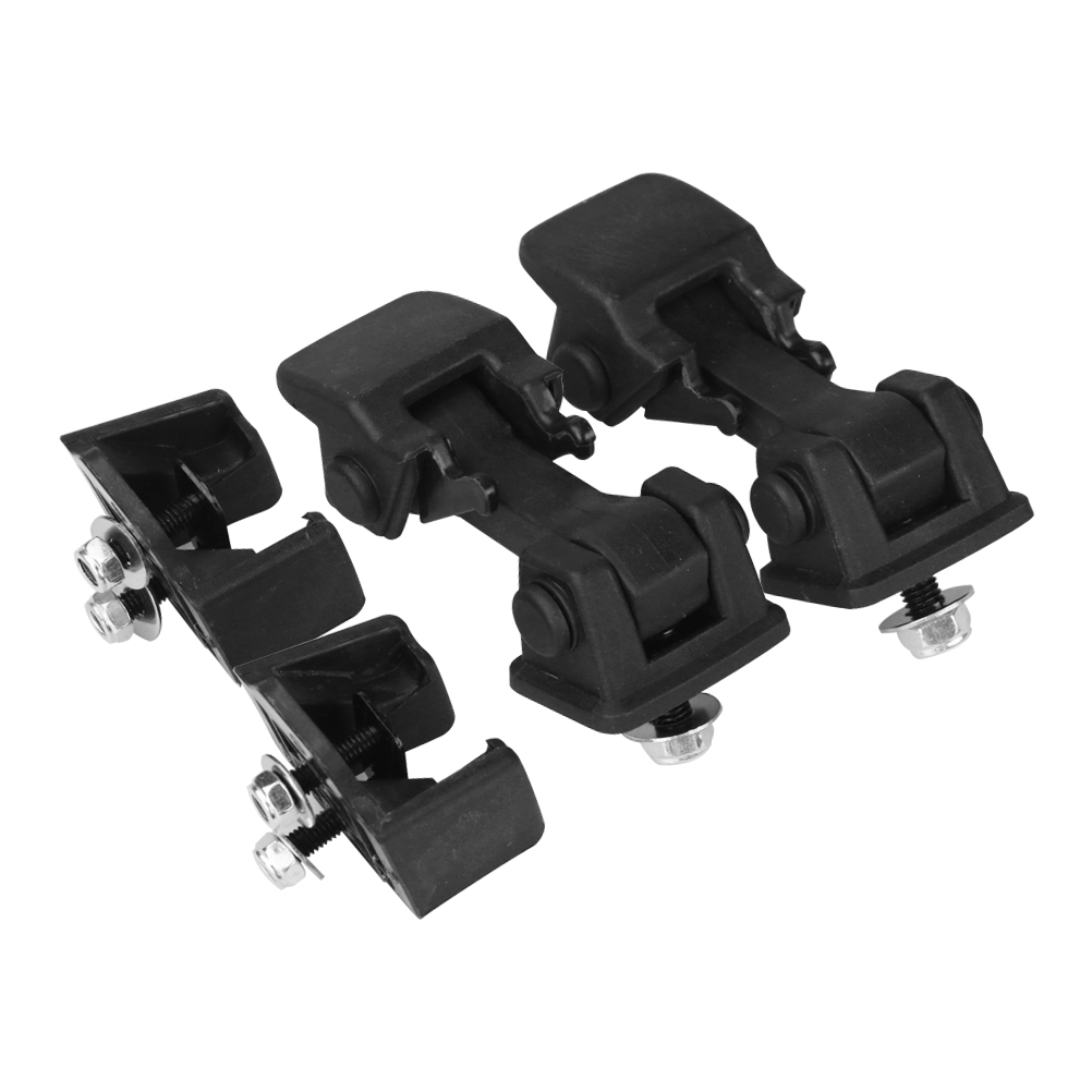 Hood Latches Set of 2 - Replaces# 55176636AD - Fits 1997-2006 Jeep Wrangler Image
