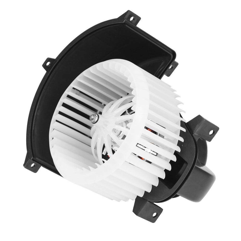 AC Heater Blower Motor Fan White With Cage - Replaces# 7L0 820 021 Q, TYC 700262 Image