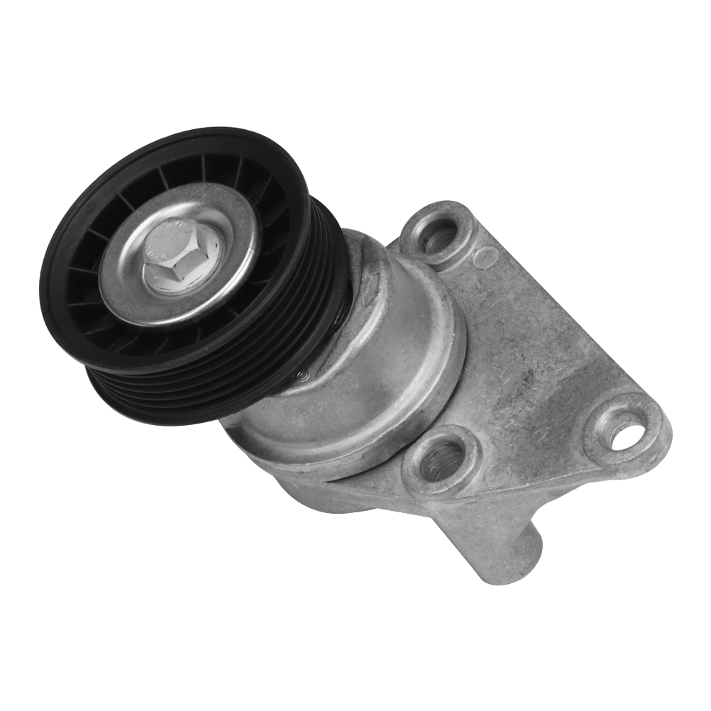 Automatic Serpentine Belt Tensioner and Pulley Assembly - Replaces# ACDelco 38158, 88929140 Image