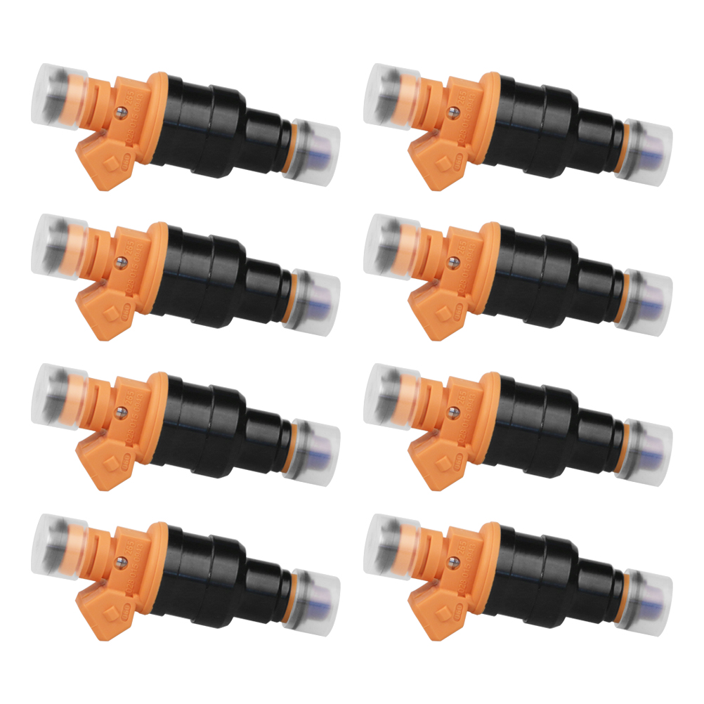 Fuel Injector Set of 8 - Replaces part# 280150943 - Fits Ford, Lincoln & Mercury 4.6L, 5.0L, 5.4L, 5.8L Vehicles Image