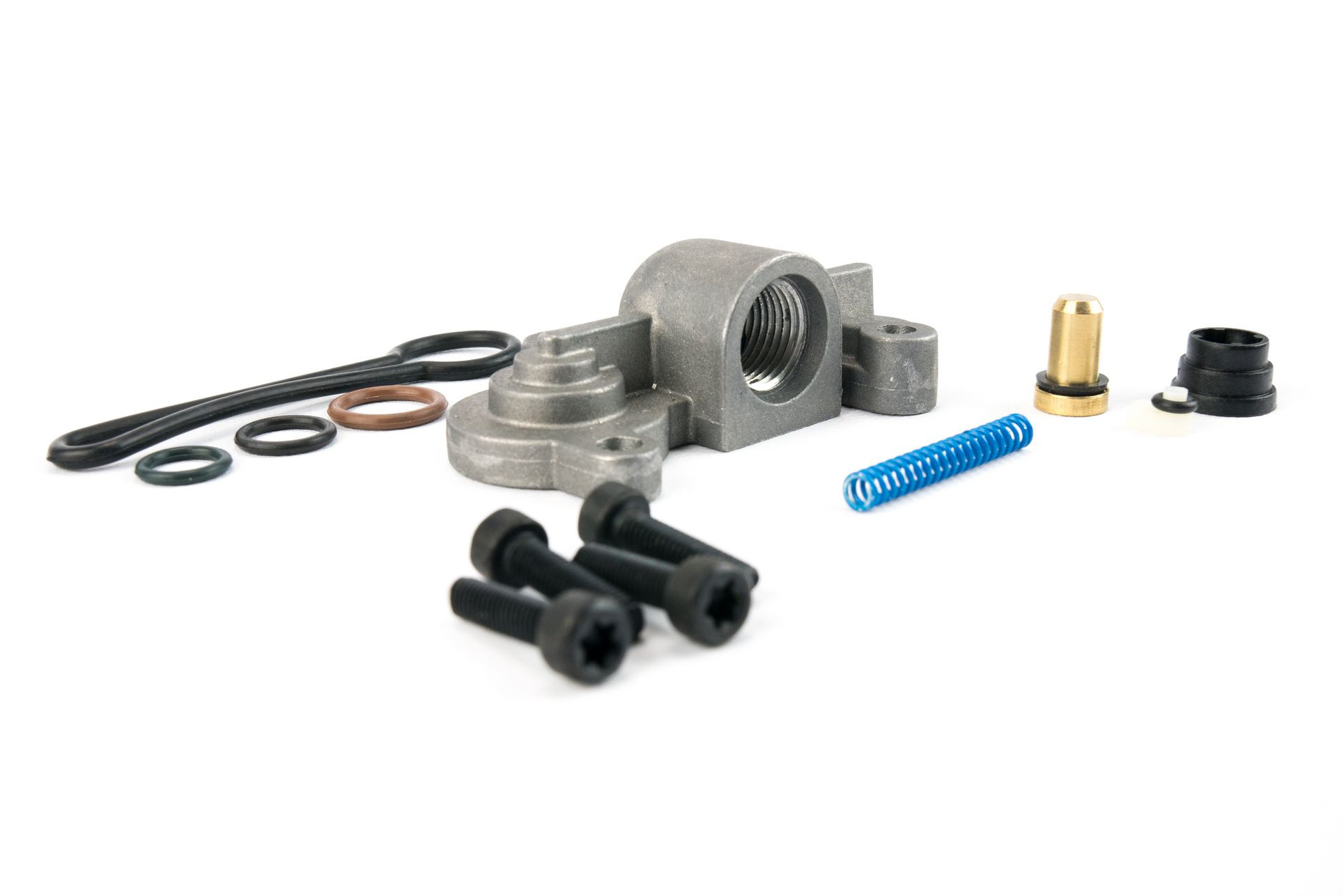 6.0 Blue Spring Kit Upgrade - Fuel Regulator Kit - Ford Blue Spring Kit 6.0 Powerstroke F250, F350, F450, F550 2003, 2004, 2005, 2006, 2007 - 3C3Z-9T517-AG Image