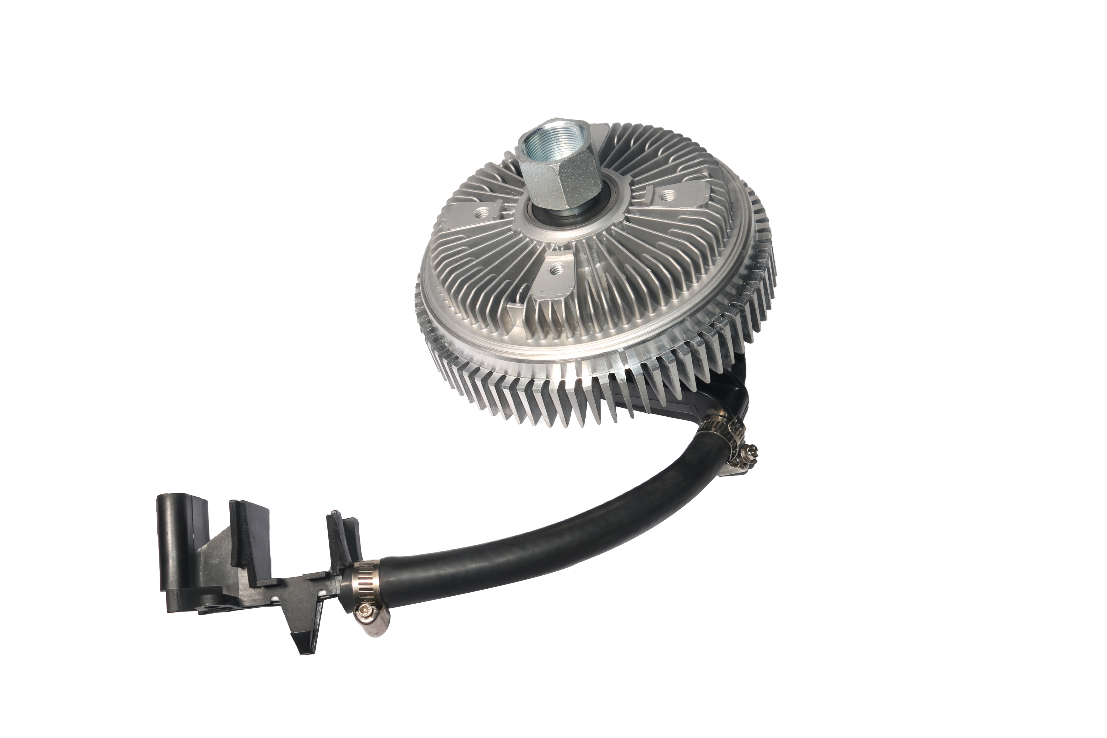 Electronic Radiator Fan Clutch - With Harness - Fits Chevy Trailblazer 2002-2009, EXT, GMC Envoy, Buick Rainier, Isuzu Ascender, Bravada, Saab 9-7x Image
