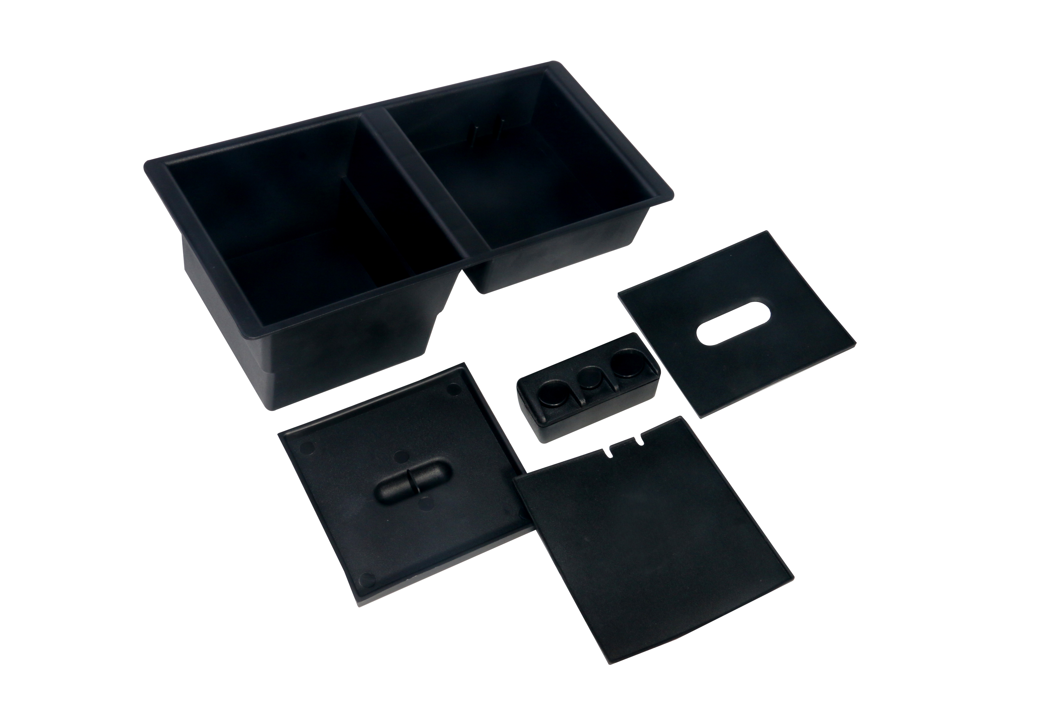Center Console Organizer Tray - Replaces part 22817343 - Fits 2014-2019 GM Trucks & SUVs Image