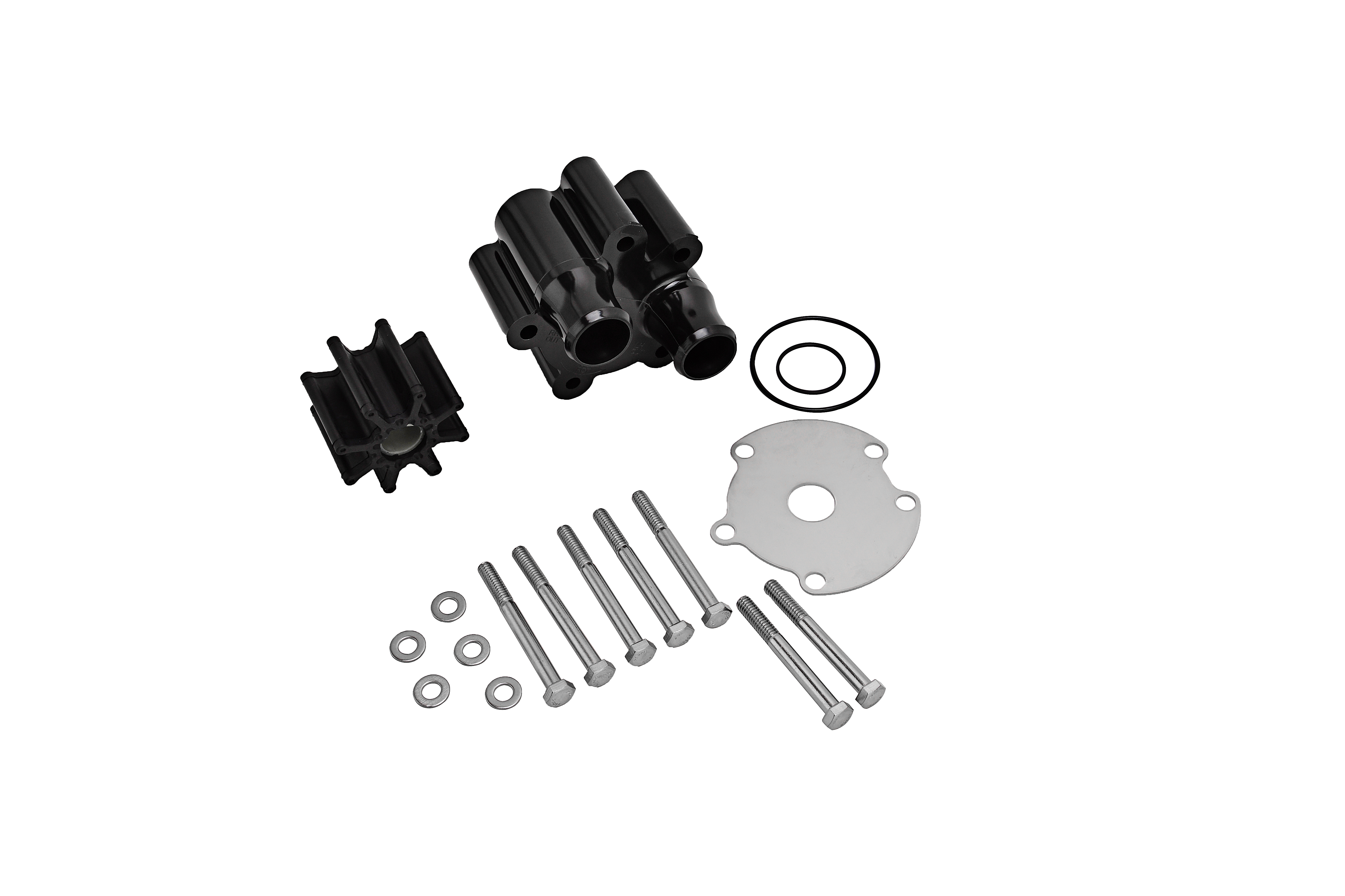 Water Pump Housing Impeller Kit Replaces 18-3150, 46-807151A14 Image