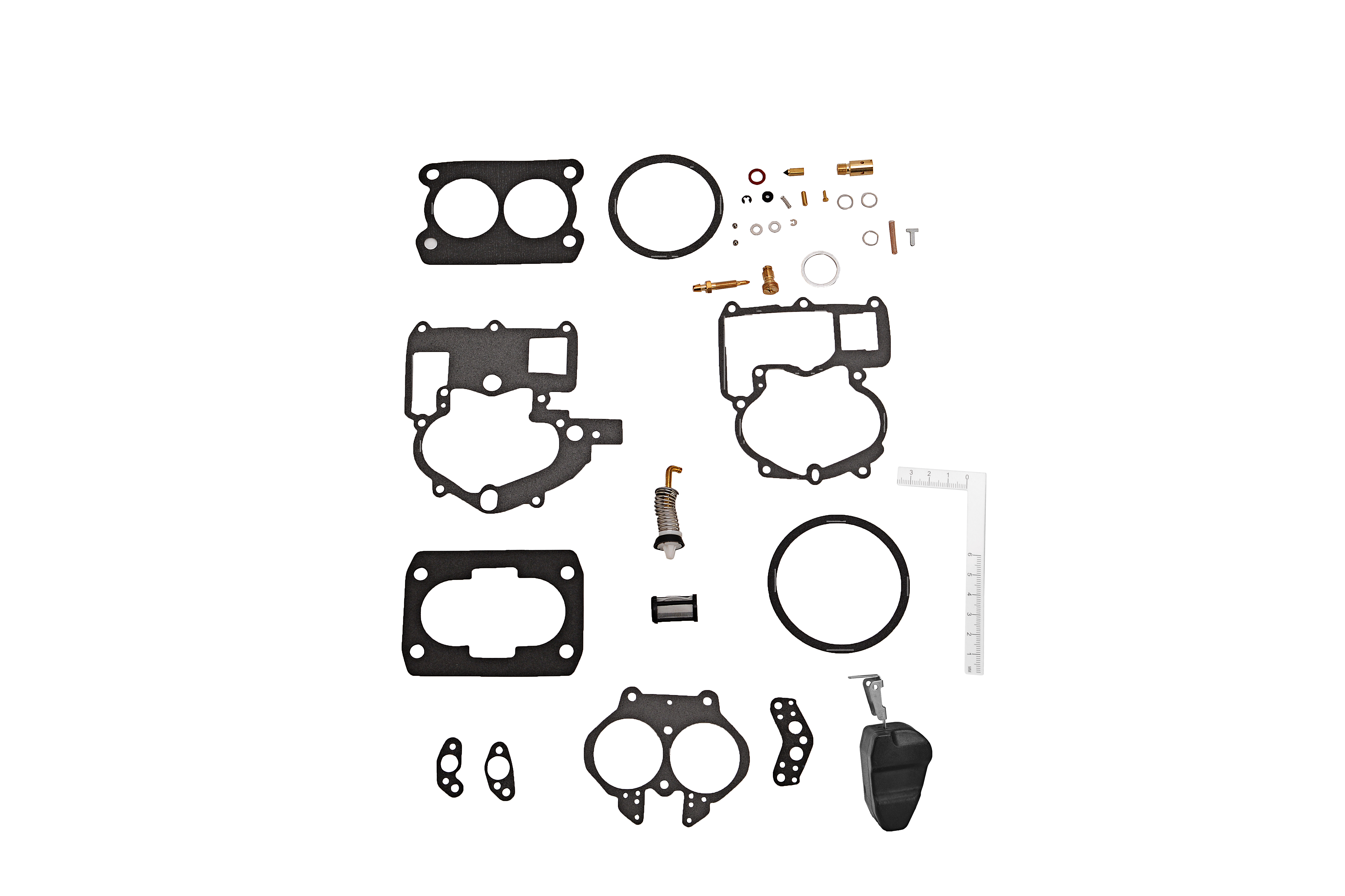 Carb Rebuild Kit fits Mercruiser Rochester 2 BBL Carburetor - Replaces 3302-804844 Image