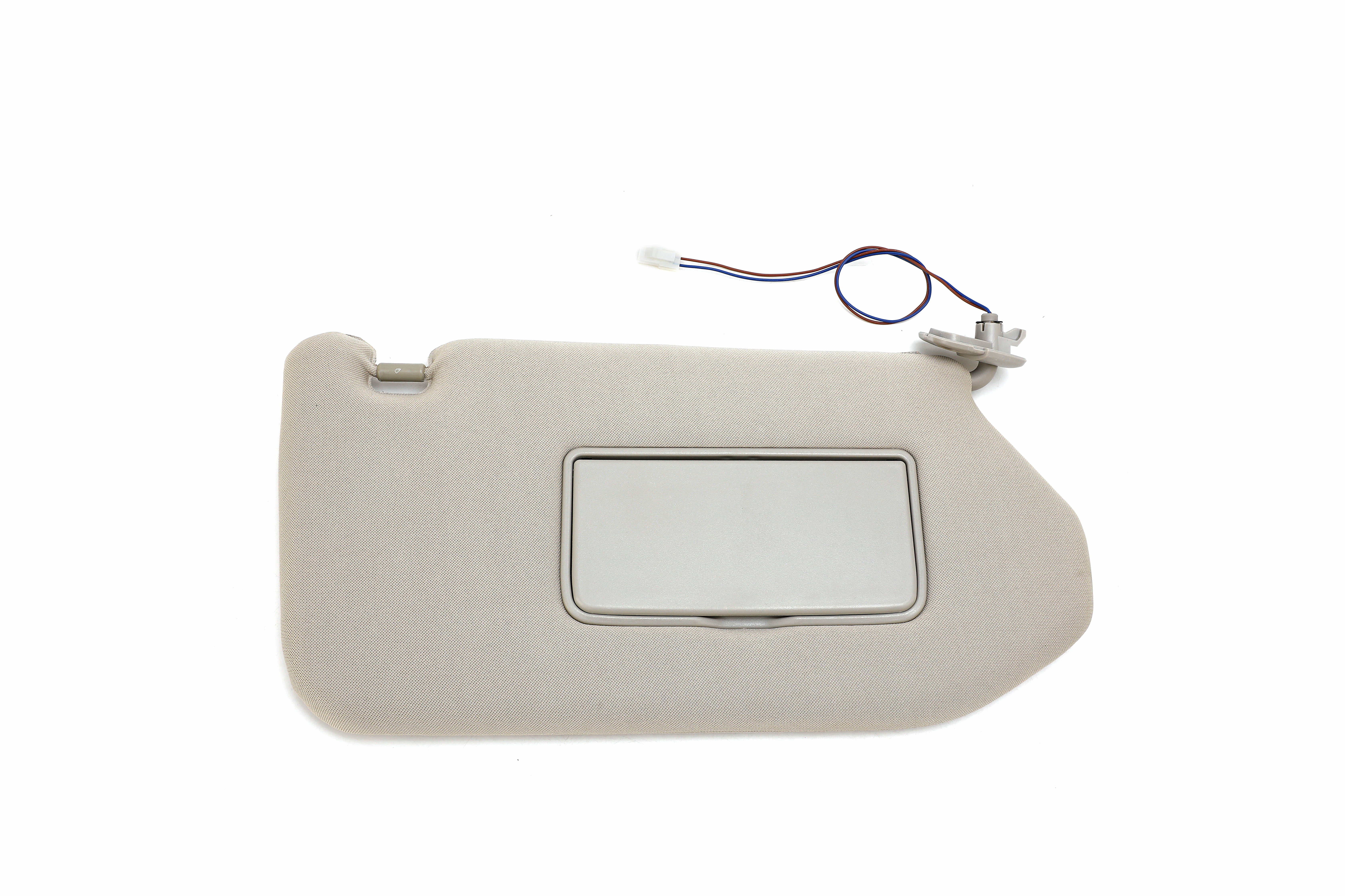 Passenger Side Sun Visor Right Side Tan - Fits Nissan Pathfinder, Infiniti QX60, JX35 Image