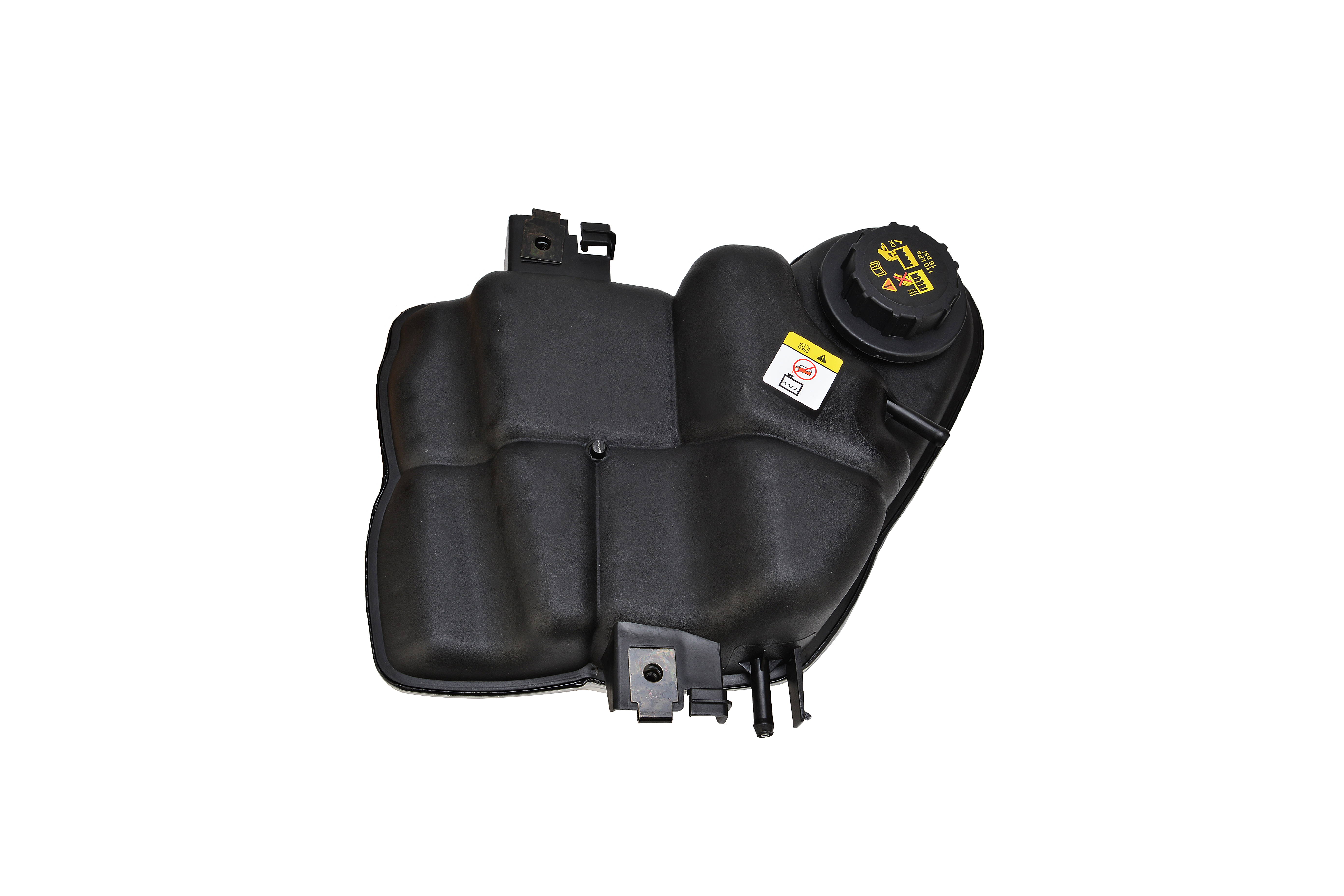 Coolant Recovery Tank with Cap - Fits Powerstroke 6.0L - Replaces 6C3Z-8A080-B, 3C3Z8A080AE Image