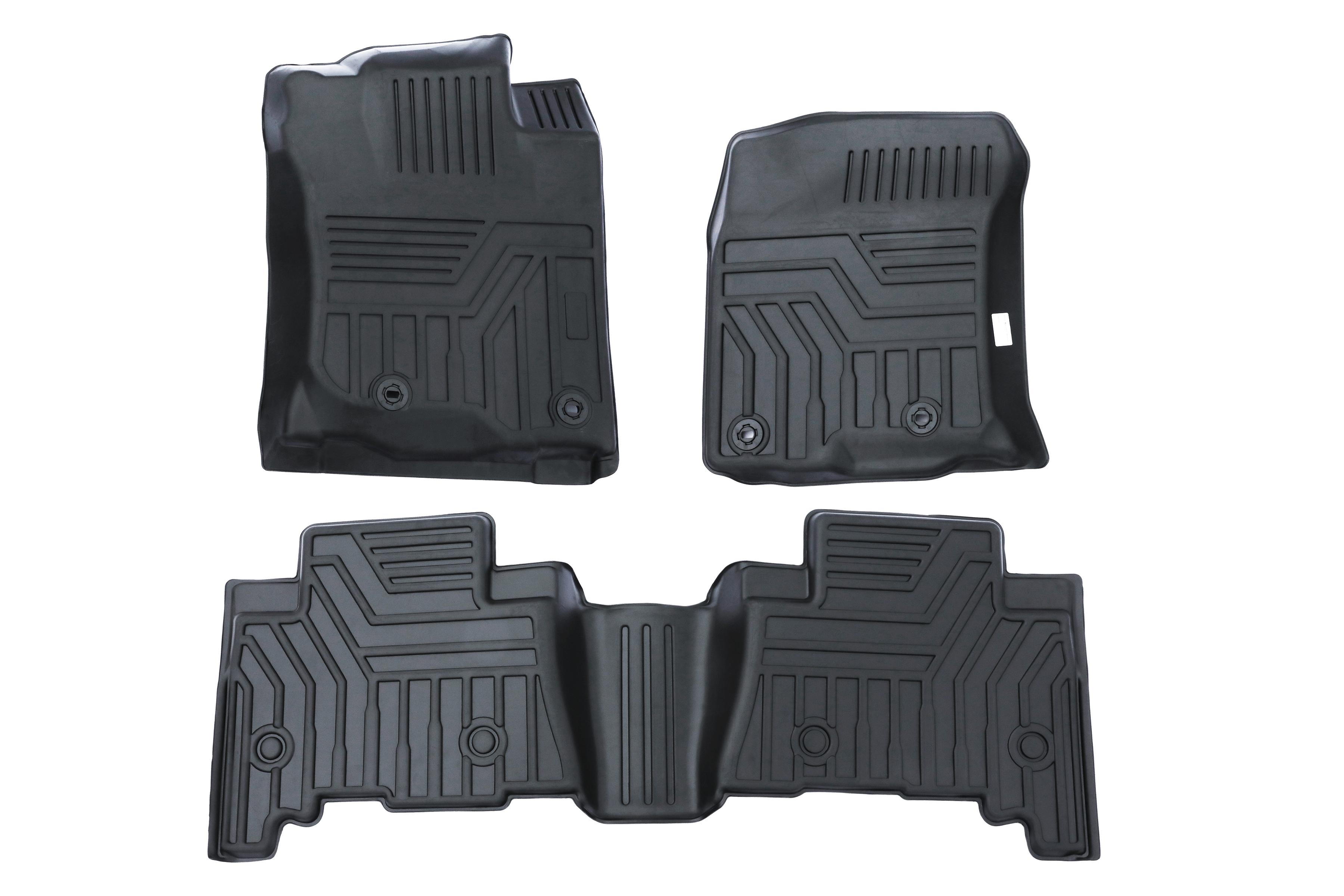 Front & Rear Floor Liner Set For Toyota & Lexus 2013-2020 Image