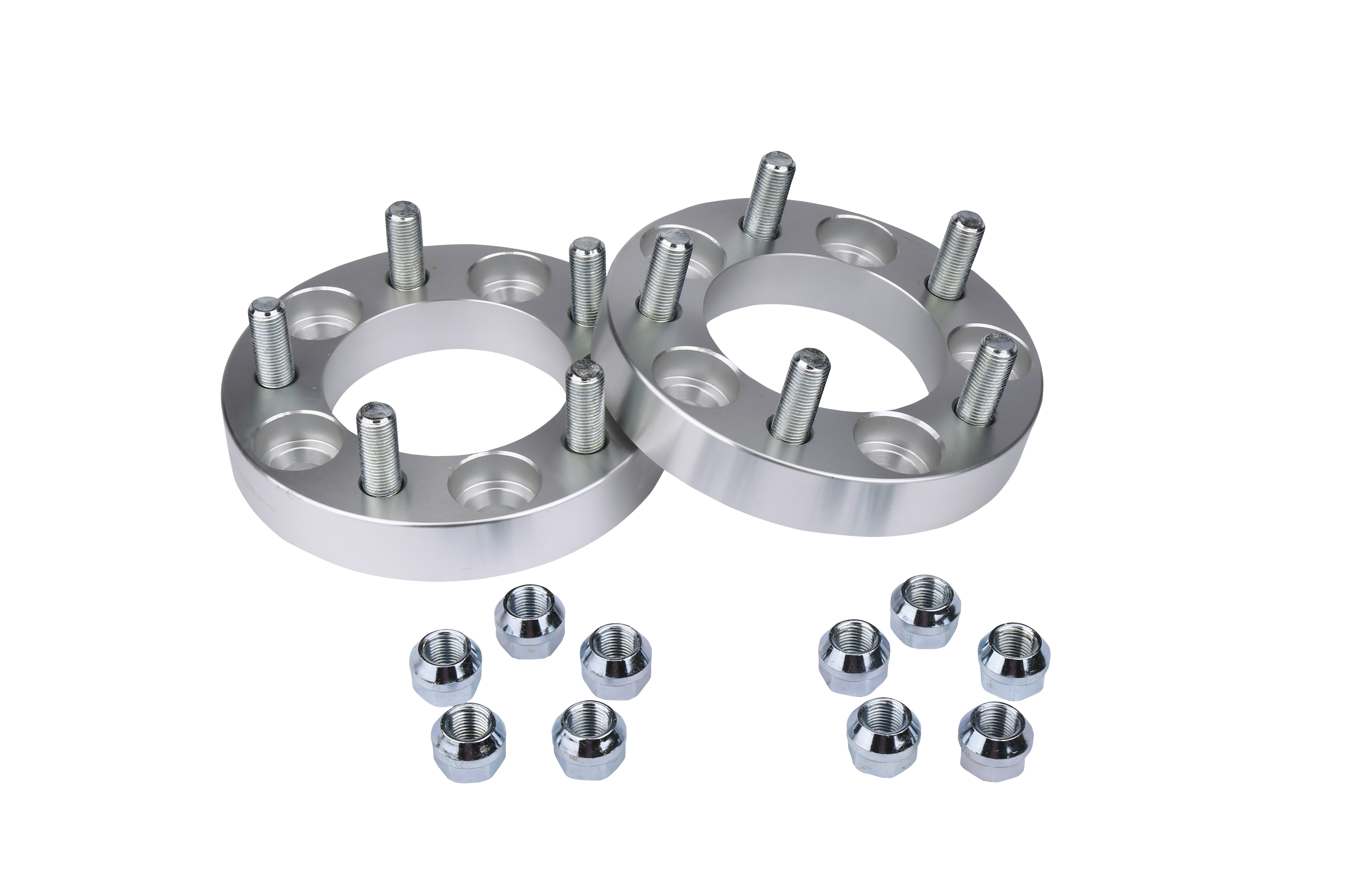 Wheel Spacer Set of 2-5x114.3mm Pattern - Fits Ford and Jeep Image