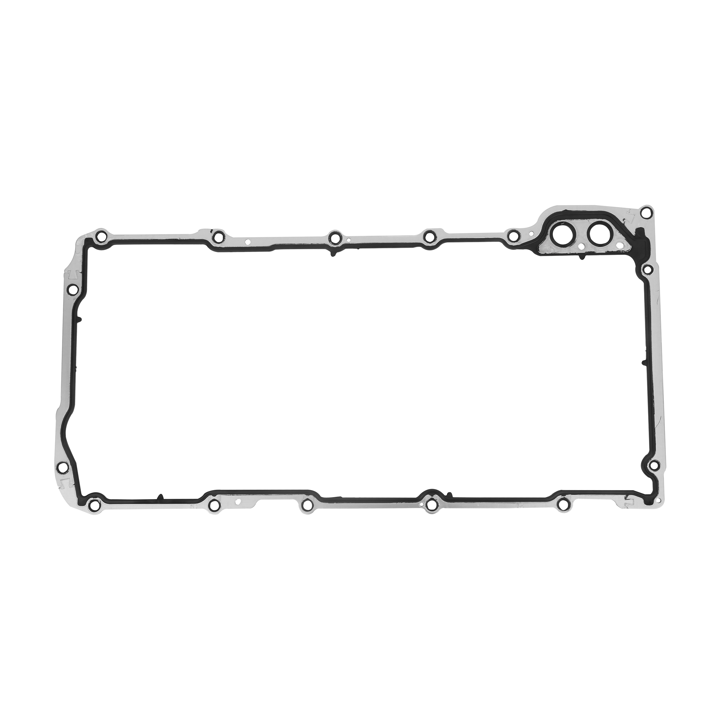 Oil Pan Gasket - Replaces 12612350 - Compatible with Buick, Cadillac Vehicles Image